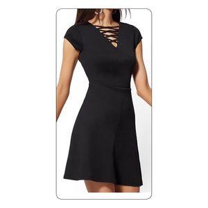 NWT NY&Company Black Cotton Dress